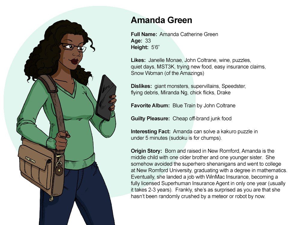 Profile:  Amanda Green