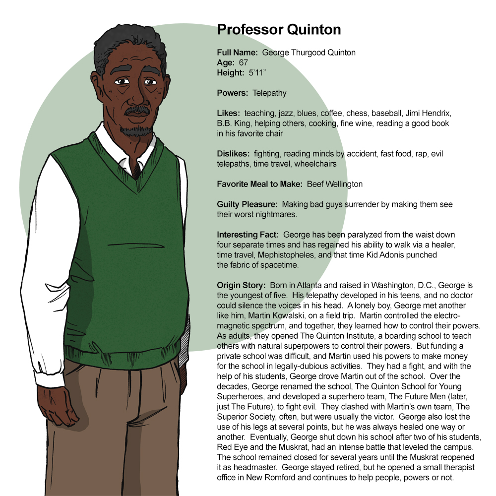 Profile:  Professor Quinton