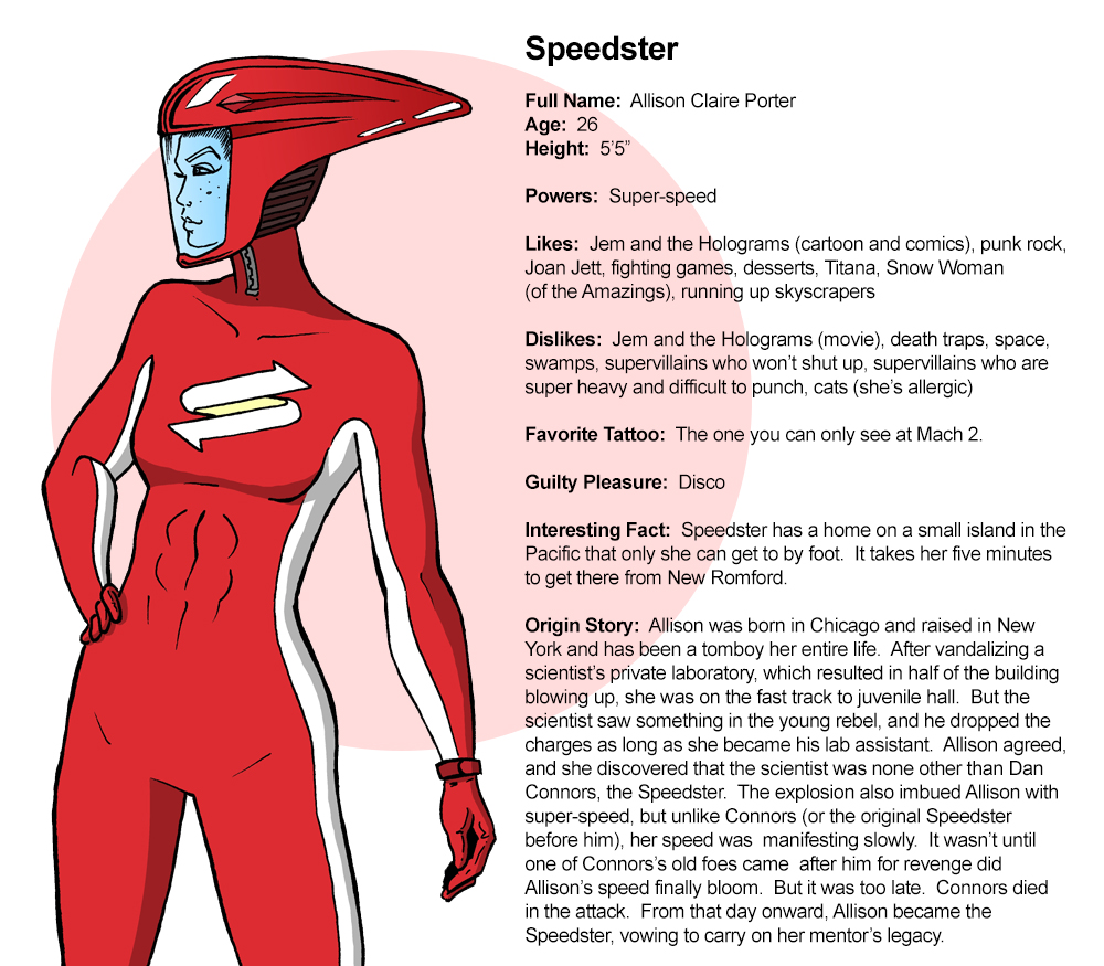 Profile:  Speedster